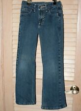 Size 8 Boys Blue Regular Jeans by Wrangler Adjustable Waist