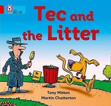 Tec and the Litter: Band 02B/Red B (Collins Big Cat) by Tony Mitton...