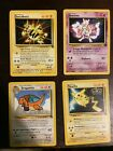 Pokemon Cards Black Star Promo Full Set of The First Movie Cards 1999 WOTC