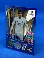 MATCH ATTAX EXTRA 2020/21 HUNDRED 100 CLUB RAPHAEL VARANE REAL MADRID