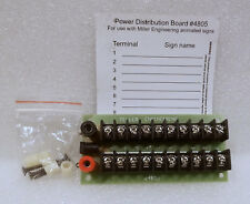 Miller Engineering 4805 Power Distribution Board. New