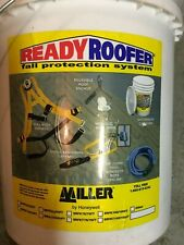50 Ready Roofer Fall Protection System Harness Lanyard Rope Grab Roofing Kit