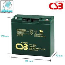 Batteria a Piombo ciclica 12v 20ah 39662010 EVX12200 CSB Altissima qualita