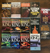 Huge Lot Of 14 Stephen King Books (The Green Mile1-6, It, The Shining,More) PbL1