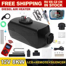 8KW 12V Auto Air Diesel Heizung Heizgerät Standheizung Luftheizung LCD 10L Tank