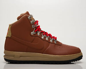 Nike Lunar Force 1 Duckboot '18 Men's Cinnamon Beechtree Black Lifestyle Shoes