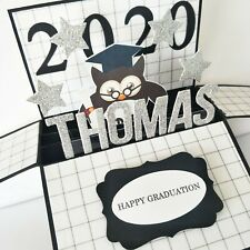 Handmade Name Personalized 3d card -  2020 Graduation Card | Graduation gift