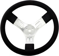 "STR 15"" Aluminium Steering Wheel Racing Lightweight Light Brisca F2 Autograss"