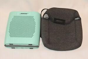 Bose SoundLink Color Bluetooth Portable Speaker Green with Travel Storage Bag