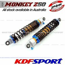 KDF REAR SHOCKIE SHOCK ABSORBER 50 CHROMED BACK Z50J BIKE FOR HONDA MONKEY Z50