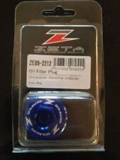 SUZUKI   RM125  RM 125    2001-2008   ZETA OIL FILLER PLUG   BLUE