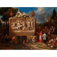 Ferguson Fantasy Landscape St Charles Borromeo Wall Art Canvas Print 18X24 In