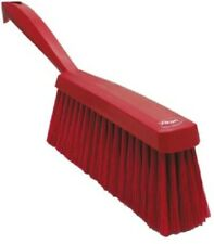 Vikan HAND BRUSH 110x330x35mm Soft PET Bristles, For Food Industry RED