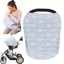 Cubierta Para Cochecito De Bebé Multiuso Sábana Lactancia Materna Diseño Flechas
