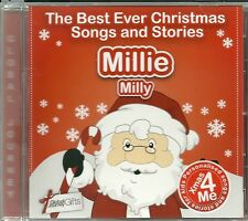 MILLIE / MILLY - THE BEST EVER CHRISTMAS SONGS & STORIES PERSONALISED CD