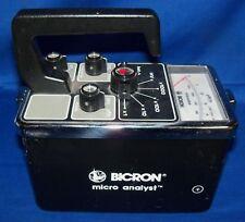 Bicron Micro Analyst SCA Micro Rem/hr Meter Scintillator Radiation Geiger