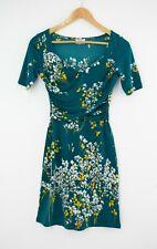 Beautiful LEONA EDMISTON Ruby Dress Minnie Teal Floral Sz 4 16 18