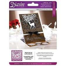 ENCHANTED REINDEER Crafter's Companion Die'sire 5*5 Create a Card Christmas Die