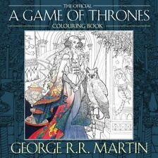 The Official A Game of Thrones Colouring Book by George R. R. Martin (Paperback,