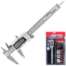 Dekton Profesional Digitales Vernier calibrador calibre de precisión herramienta de medición