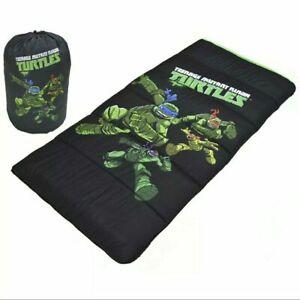 Teenage Mutant Ninja Turtle Full Length Zip Youth Rolls Up Sleeping Bag TMNT