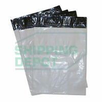 """50 7.5x10.5 White Poly Mailers Bag Self Seal 7.5""""x10.5"""" 2MIL Secure Seal"""