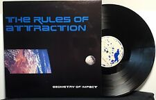 """The Rules Of Attraction """"Geometry Of Impact"""" vinyl record 12"""" LIMITED"""