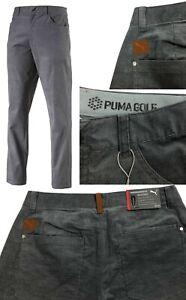 Puma Golf Modern Corduroy 6 Pocket Golf Trousers - RRP£80 - ALL SIZES LONG LEG