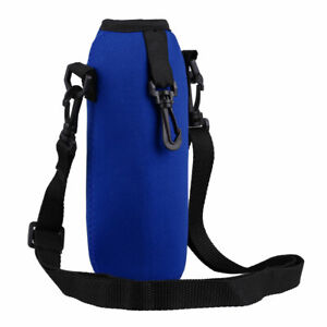 750ML Adjustable Shoulder Strap Neoprene Water Bottle Insulated Bags Carry Pouch