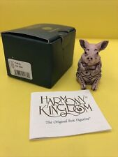 Harmony Kingdom Ink oink Uk Made Box Figurine
