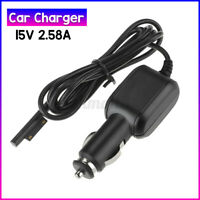 "47"" Car Power Adapter Cable Charger for Surface Connect Pro 5 6 7 Laptop 2 3"