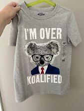 OshKosh NWT Boys Short Sleeve Gray T-Shirt I'm Over...