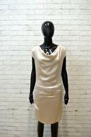 Vestito Donna CRISTINAEFFE Size 40 Abito Tubino Dress Women Robe Tajer Elastica