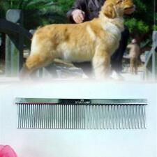 2017 Pet Dog Grooming Comb Stainless Steel Lightweight Dog Combs for Grooming UB