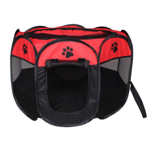 'Pet Cage Portable Pet Tent Folding Dog House Cage Cat Tent Playpen Puppy'