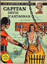 FUNCKEN. Capitan défie d'Artagnan. Lombard 1966