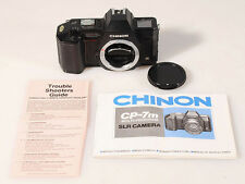 CHINON CP-7m  CAMERA WITH INSTRUCTIONS