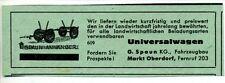 Spaun Anhänger-Universalwagen-Marktoberdorf----Werbung - 1949-