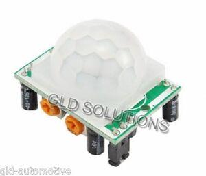 Sensore PIR con Scheda di Controllo e Uscita TTL Tempo di ritardo 0,3 a 180 sec