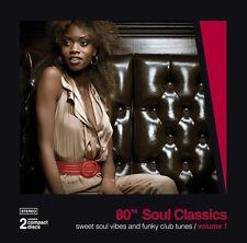 80's Soul Classics Vol. 1   New 2-cd    Remastered  PTG