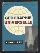 █ GEOGRAPHIE UNIVERSELLE LAROUSSE 1960 Pierre Deffontaines Tome 3 Seul █