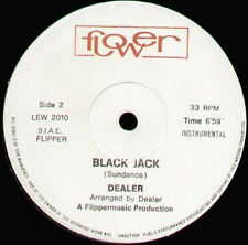 DEALER - Black Jack - 1981 Flower Italy - LEW 2010