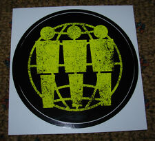 Third Man Records Black Yellow Sticker Iconic Logo New Stripes Jack White