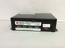 Federal Signal 4 Channel Power Supply 600131 Free Shipping