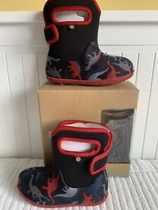 Bogs Dinosaur Boots Size 9
