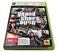 Grand Theft Auto: Episodes from Liberty City XBOX 360 PAL