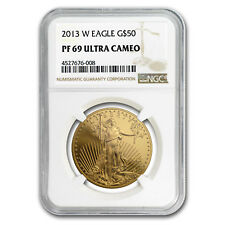2013-W 1 oz Proof Gold American Eagle PF-69 NGC