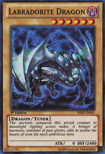 1x YuGiOh Labradorite Dragon - SHSP-EN001 - Super Rare - 1st Edition Near Mint
