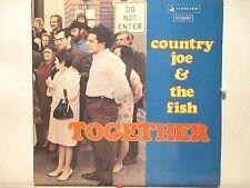 Country Joe & The Fish  Vanguard 19006  Together  Rare UK Release  Nice!
