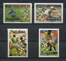 s6358) GUYANA 1990 MNH** WC Football'90- CM Calcio 4v
